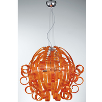 Светильник Voltolina Medusa 4L ORANGE MEDUSA